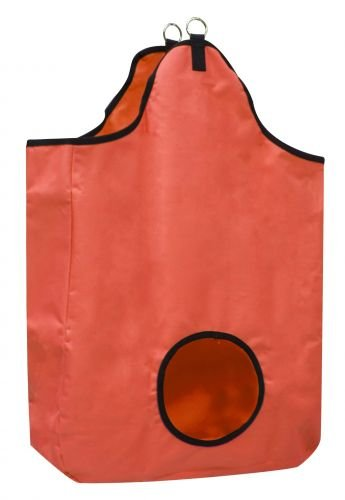 Showman Tough Tote Hay Bag Orange