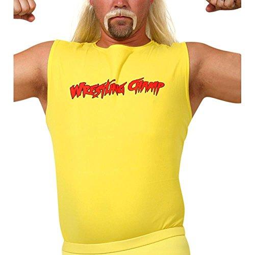 Adult Wrestling Champ Hulk Hogan Style Shirt, Size Adult Standard by Fun Plus