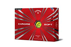 Let's get right to it, Chrome Soft is our softest urethane golf ball. If you want exceptionally soft feel, excellent short game control, with long distance and low spin off the tee too, than this is your golf ball. From the cover to the core,...
