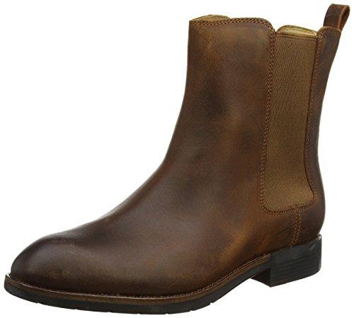 Sebago Womens Nashoba Chelsea Boots Brown (Cognac Leather) OBeRTISX
