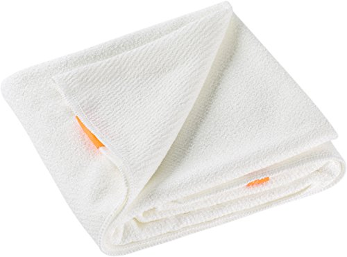 Aquis Lisse Luxe Hair Towel, White, 7 oz. by AQUIS (Image #3)