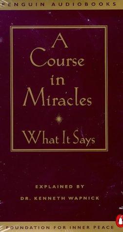 E.b.o.o.k A Course in Miracles: What It Says<br />RAR