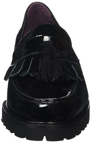 Gabriele 840741, Mocasines para Mujer Negro - negro
