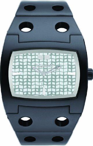 Vestal Destroyer Watch Polished Black/Black/White, One Size