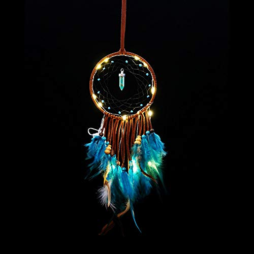 (Dreamcatcher Car Accessories Indian Style Wind Chimes Pure White)