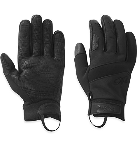 Outdoor Research TAA Coldshot Gloves, All Black, ()