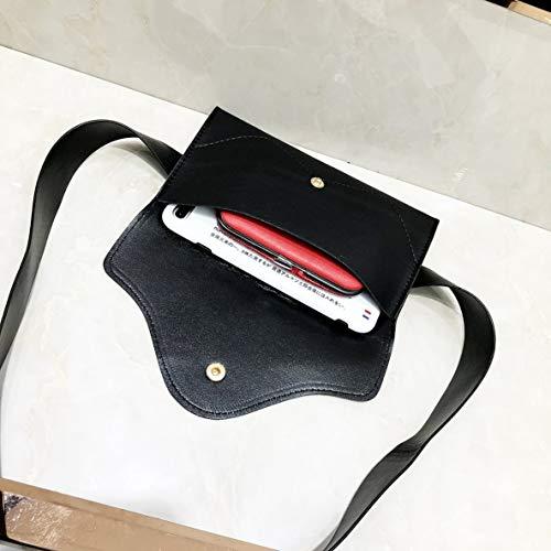 populaire mode sac Mode Sac la bandoulière taille Snap téléphone portable élégant de Fastener de de bandoulière à Sac Sac à poitrine Sac fq8qg1F