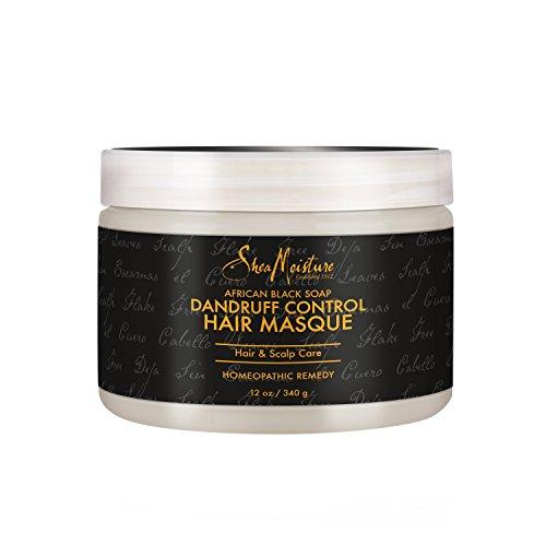 SheaMoisture African Black Soap Dandruff Control Hair Masque, 12 Ounce