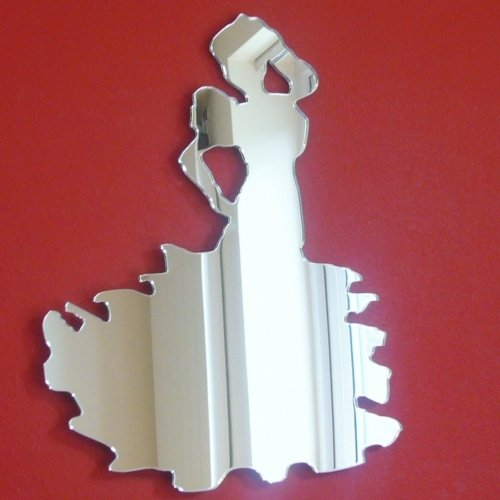 Super Cool Creations Flamenco Dancing Mirror - 20cm x 12cm