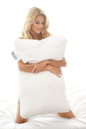 woosa-king-shredded-gel-memory-foam-pillow-with-hypoallergenic-bamboo-cover-for-optimal-orthopedic-s