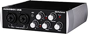 PreSonus AudioBox 2x2 Black Edition USB Recording System