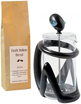 Alessi Inka negro cafetera por Guido Venturini con 250 G de café ...