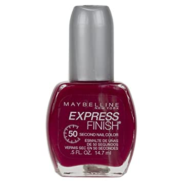 Amazon.com : Maybelline New York Express Finish 50 Second Nail Color ...