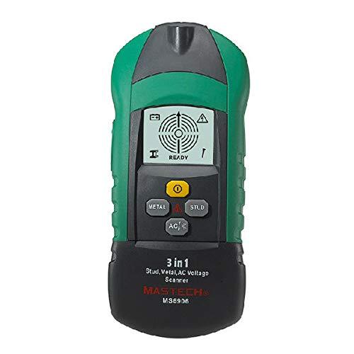 MS6906 Multifunctional Stud Metal Detector AC Voltage Scanner