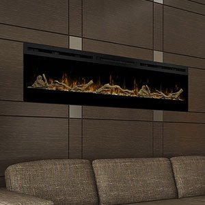 Amazon.com: Dimplex Prism 74-In Electric Fireplace w ...