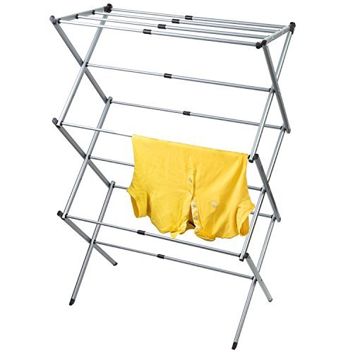 - Artmoon GOBI Foldable Drying Rack Horse Extendable Telescopic Clothes Dryer 17''- 29,5'' Length, Anti-Rust Steel