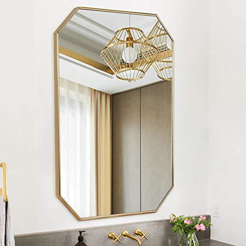 Bathroom Mirror Wall Mirror, Octagonal Vanity Mirror Makeup Mirrors, Decorative Mirror for -
