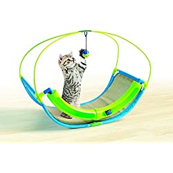 patcharaporn Pet Parade Cat Ball Swing - Playtime Rocking Toy