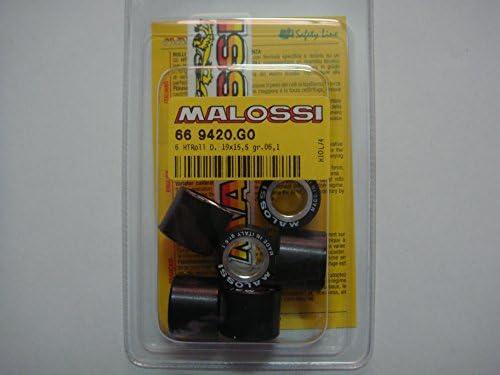 Malossi Variatorrollen 19 X 15 5 Mm Gewicht 4 3 G 4 7 G 5 G 5 5 G 5 7 G 6 1 G 6 5 G 7 2 G Artikelnummer 669420 6 1 Gr Amazon De