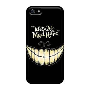 Iphone Cases - Cases Protective For Iphone 5/5s- Alice In Wonderland We Are All Mad Here