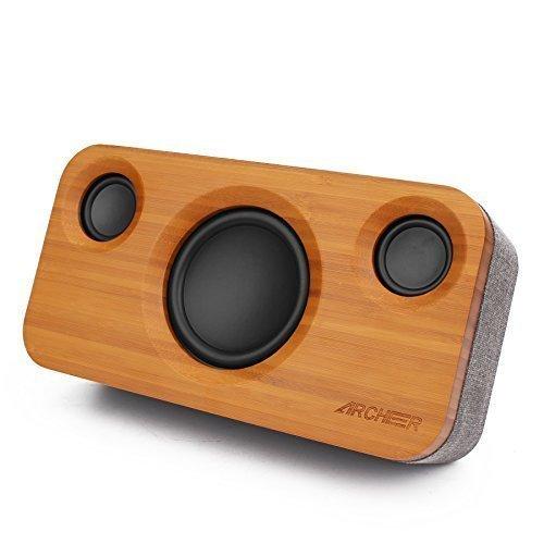 Archeer A320 Altavoz Bluetooth de Bambú
