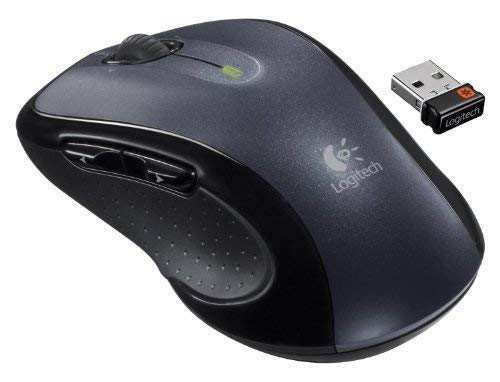 Logitech M510 Wireless Mouse-(Renewed)