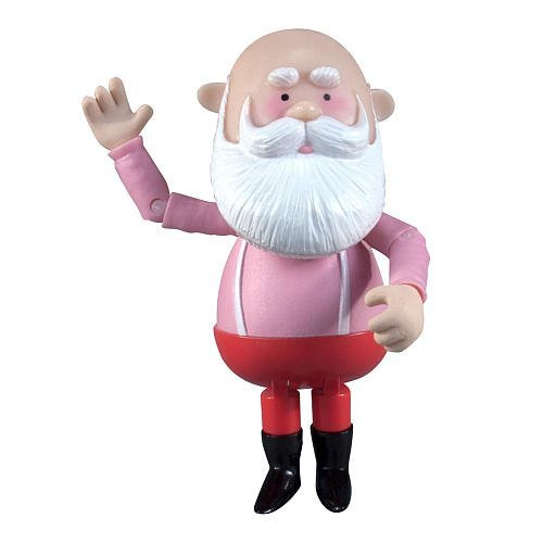 Rudolph the Red Nose Reindeer - Basic Mid-Scale Poseable Figure - Santa Claus (Poseable Rudolph Reindeer)