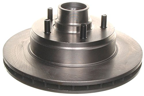 ACDelco 18A417A Advantage Non-Coated Front Disc Brake Rotor and Hub Assembly