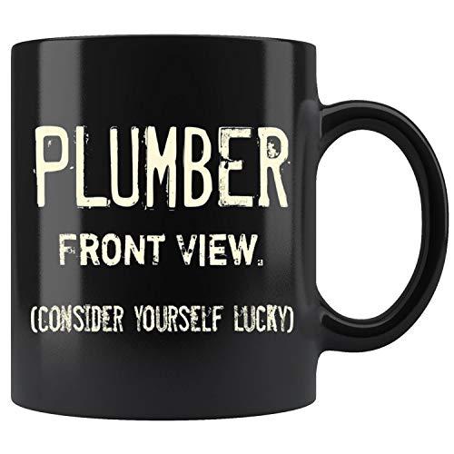 Plumber - Front View. Funny Halloween Costume Party Mug Coffee Mug 11oz Gift Tea Cups -