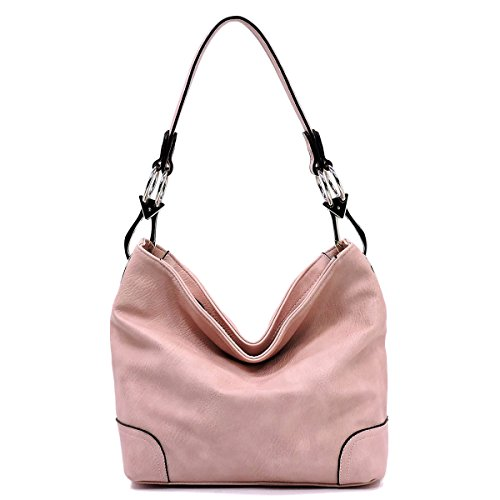 Vegan Faux Leather Bucket Shoulder Handbag Classic Purse
