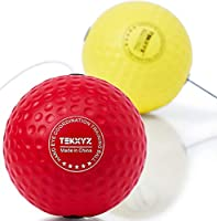 TEKXYZ Fight Ball, Fun Focus Punching Bag for Improving Reflex, Timing, Accuracy, Reaction and Hand Eye Coordination for...