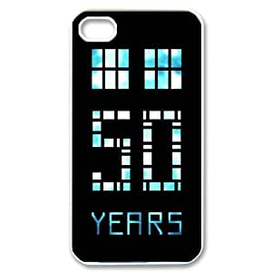 iPhone 6 Plus Case, Doctor Who 50 Years Back Cover Case for iPhone 6 Plus