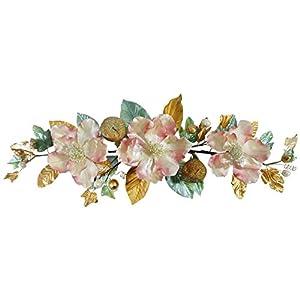 "V-Max Floral Decor 32"" Mauve Magnolia Swag 10"