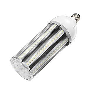 54w Led Corn cob Light Bulb E26/E39 Base,5000K Daylight 6500 lm,CFL HID HPS Metal Halide Replacement(200w) for Street and Area Light Acorn shoebox Fixture Warehouse High Bay Parking Lot Garage Light