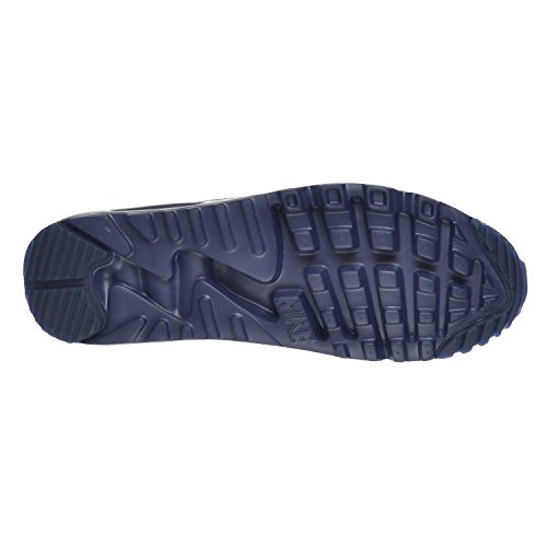 Nike Air Max 90 Mens Ultra Moiré Sneakers 819.477-011 Midnight Navy / Bianco
