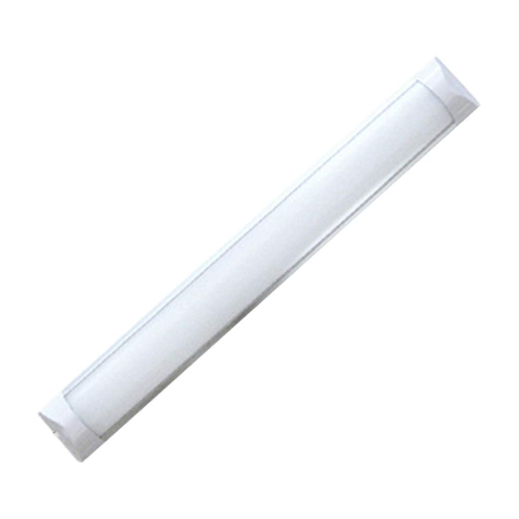 1.2 M T8 Double Tube Cover//Explosion-proof Fluorescent Lamp Led Three Anti-light//Integrated Ultra-thin Bracket//Waterproof Dust-proof Purification Lamp Color : B, Size : 30CM