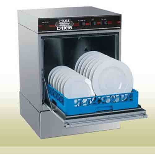 Cma L-1X16W/Htr Dishwasher, Undercounter, 30 Racks Per Hour, Low Temp, Chemical