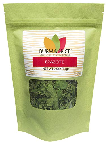 - Dried Epazote Leaves : Loose Leaf, Dried Herb, Natural, Mexican Tea (0.5 Ounces)