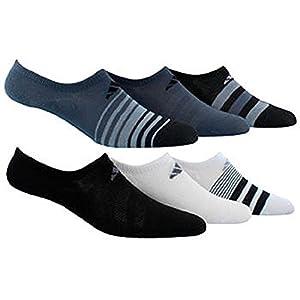 adidas Women's Superlite Socks Purple/Grey/White (Pack of 6)