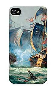 Kingsbeatiful Christmas Day's Gift- New Arrival Cover case cover With Nice Design For Iphone 6 4.7 Adolf Bock Painting 0KZiTYhIfLB