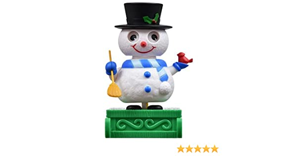 SOLAR POWERED; NO BATTERIES NEEDED SOLAR DANCING HOLIDAY SNOWMAN
