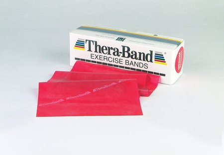 Thera-Band, Color: Red, Level 2, 6 yd by TheraBand