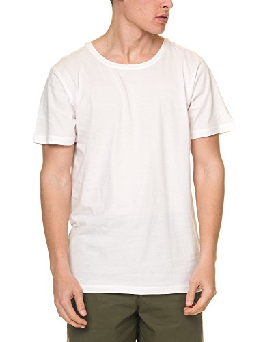 dr-denim-jeansmakers-mens-patrick-mens-white-tee-in-size-l-white