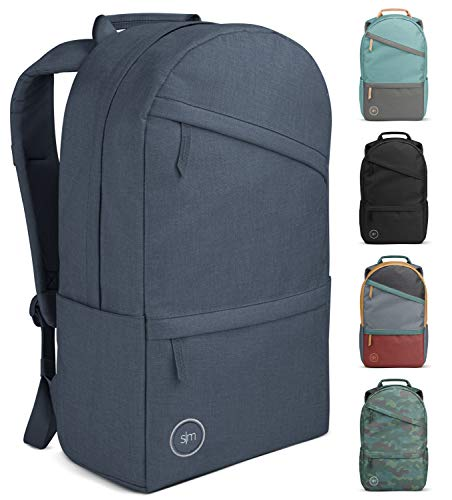 Simple Modern Legacy Backpack with Laptop Compartment Sleeve - 25L Travel Bag for Men & Women College Work School -Deep Ocean