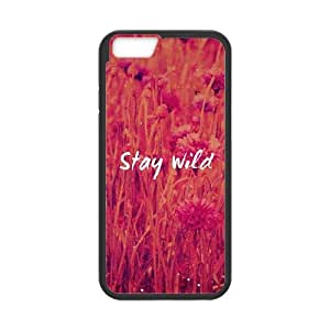 iPhone 6 Plus 5.5 Inch Cell Phone Case Black Stay Wild JNR2028057
