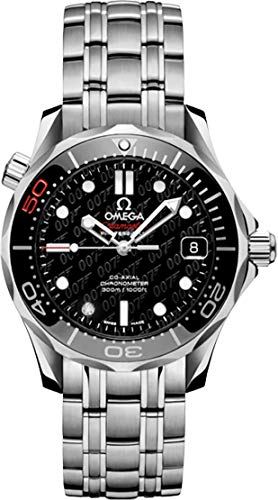 (Omega Seamaster 007 James Bond 50Th Anniversary Limited Edtion Midsize Watch 212.30.36.20.51.001)