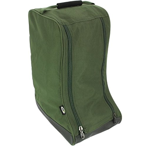 NGT –  Unisex para Botas de 379 FLA Deluxe –  Bolsa para Botas, Verde, 53 x 26 x 40 cm 53x 26x 40cm FLA-BOOTBAG-379