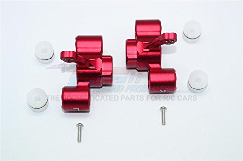 Arrma KRATON 6S BLX/Outcast 6S BLX Upgrade Parts Aluminum Front Knuckle Arms - 1Pr Set Red