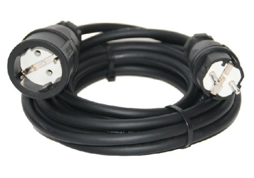 Verlängerungskabel Stromkabel H07RN-F 10m 3x2,5mm² Verlängerung IP44 ...
