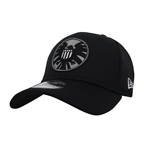 S.H.I.E.L.D. Symbol Black 39Thirty Cap- - S Shield